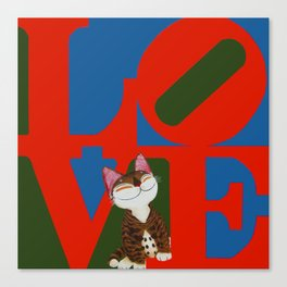 That Furry Thing Called Love Canvas Print