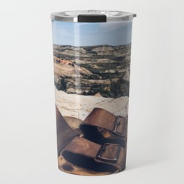 A Step in the Right Direction (aka Theodore Roosevelt NP) Travel Mug
