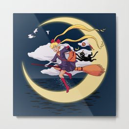 Sailor Delivery Service Metal Print