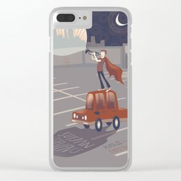 Sufjan Stevens Poster Clear iPhone Case