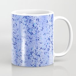 Blue Spray and Flecks Coffee Mug
