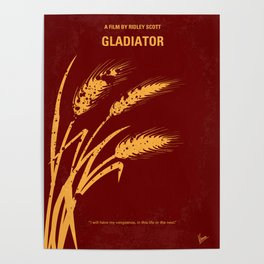 No300 My GLADIATOR mmp Poster