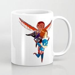 Captain Falcon Soldier Coffee Mug