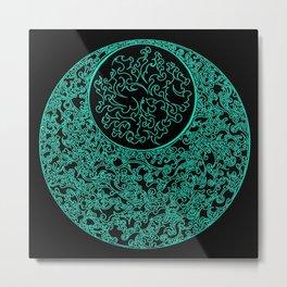No Worries (Special Green) Metal Print