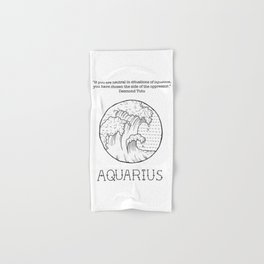 Aquarius Hand & Bath Towel