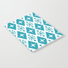 Mid Century Modern Atomic Triangle Pattern 119 Notebook