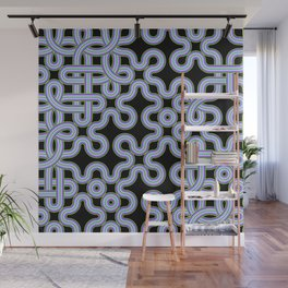Ups and Downs Pattern Wall Mural