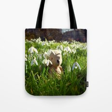 Amongst the Snowdrops Tote Bag