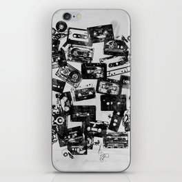 Cassettes iPhone Skin