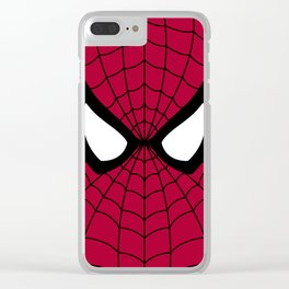 Spider man superhero Clear iPhone Case