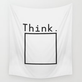 Outside the Box Wall Tapestry