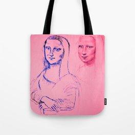 Mona Pink Tote Bag
