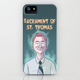 Sacrament of St. Thomas iPhone Case