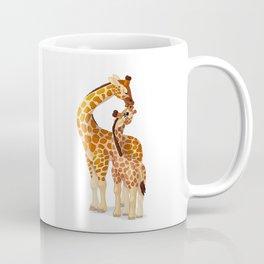 Mother and child giraffes Coffee Mug