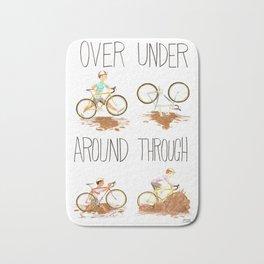 Over Under Around Through: Cyclocross Bath Mat