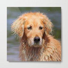 extraordinary animals -Dog 1 Metal Print