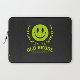 Old Skool Academy Rave Quote Laptop Sleeve