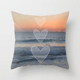 Dusk or Dawn Throw Pillow