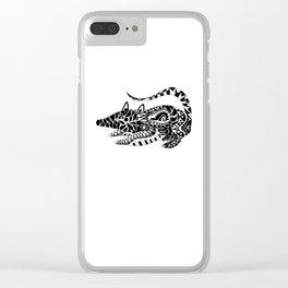 Tlacuache Possum Ecopet Clear iPhone Case
