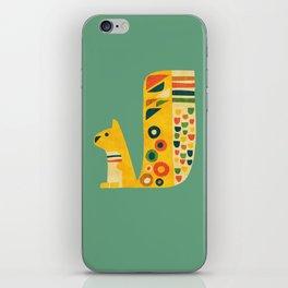 Century Squirrel iPhone Skin