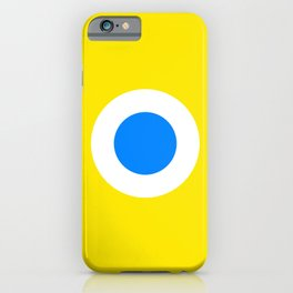 This is the Point, Yellow Pop Art iPhone Case