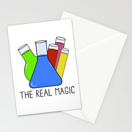 Science - The Real Magic Stationery Cards