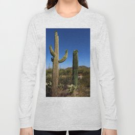 In The Sonoran Desert Long Sleeve T-shirt