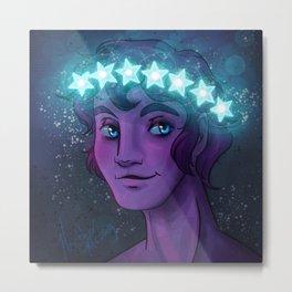 Morpheus God of Dreams Metal Print