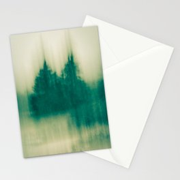 Winter Tree Abstract Stationery Cards