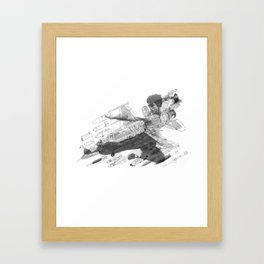 DOUBLED DRAGON. MR LEE Framed Art Print