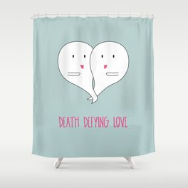 Death Defying Love Shower Curtain