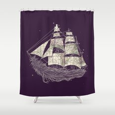 Wherever the wind blows Shower Curtain