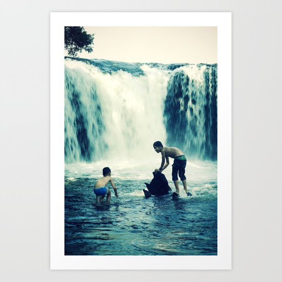 waterfall #2 Art Print