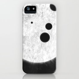 MACROCOSMOS 01 iPhone Case
