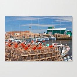 Seacow Pond Harbour Canvas Print