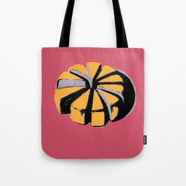 Blue cheese in pink art print Tote Bag