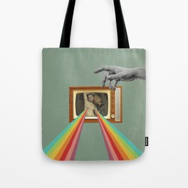 Tits on TV Tote Bag