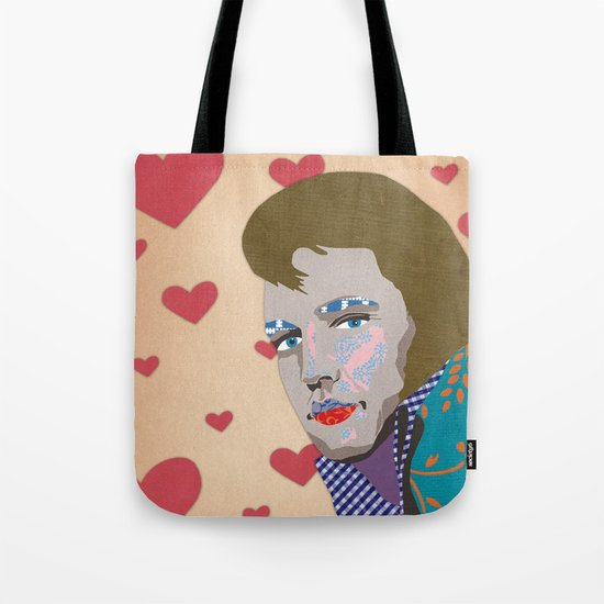 love the king Tote Bag
