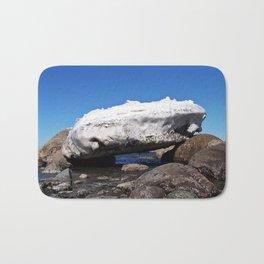 Iceberg on the Rocks Bath Mat