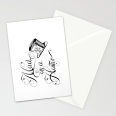 Alice in Wonderland Mad As A Hatter Stationery Cards