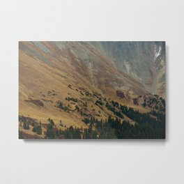 warm valley Metal Print