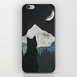 Black Cat 2 iPhone Skin