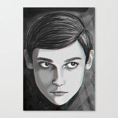 Carita seria  Canvas Print