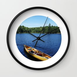 We #LOVE Camping! Wall Clock