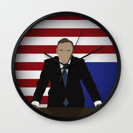 House Of Cards - Frank Underwood Wall Clock