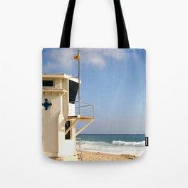 Laguna Beach Lifeguard Tower Tote Bag