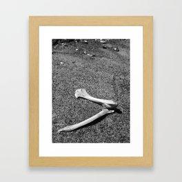 Boney Bits Framed Art Print
