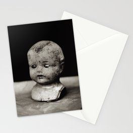 Tintype of Antique Dolls Head Stationery Cards