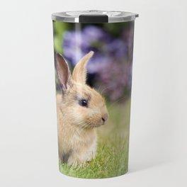 Cute Baby Rabbit Travel Mug