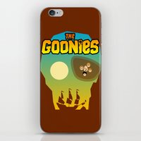 the goonies iPhone & iPod Skins featuring The Goonies by tuditees